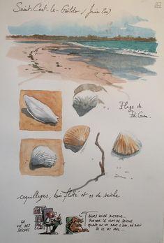 Voyage Sketchbook, Travel Sketchbook, Artist Sketchbook, Sketch Journal, Artist Journal, Art Journal Pages, Drawing Journal, Journal Layout, Journal Prompts