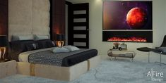 How to install a fireplace in the city or in public places? New alternatives: the modern ventless fireplace - ethanol or water vapor electric fireplace? Bioethanol Fireplace, Fake Fireplace, Cozy Fireplace, Modern Fireplace, Foyers, Installing A Fireplace, Electric Fireplace Insert, Sala Grande, Traditional Fireplace
