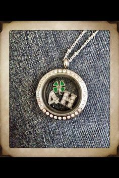 Represent your love for 4H. Origami Owl, Custom Jewelry. Inspiration & Ideas. www.melissadettmer.com