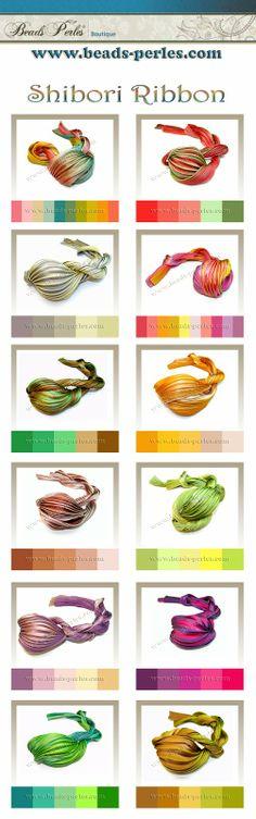 Beads Perles: Shibori Ribbon en Beads Perles Boutique!!!!!!!!!!!