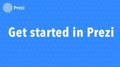 Prezi Tutorial: Get Started in Prezi