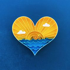 Brighter Days Are Just Around The Corner Quilling Art – Home Decor, Paper Anniversary – Sara Kirsch Arte Quilling, Quilling Comb, Paper Quilling Patterns, Quilled Paper Art, Quilling Paper Craft, Paper Crafting, Kirigami, Paper Quilling For Beginners, Quilled Roses