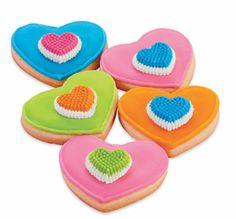 Bright Colour Flow Cookies