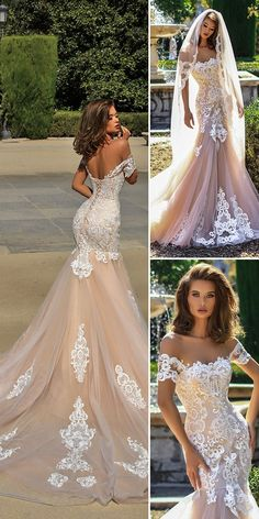 sexy wedding luxury long sleeves evening appliques mermaid stunning sexy Wedding Dress off shoulder Paige bridal dress sold by shuiruyandresses on Storenvy Western Wedding Dresses, Wedding Dress Trends, Sexy Wedding Dresses, Bridal Dresses, Wedding Gowns, Party Dresses, Dresses Dresses, Wedding Ideas, Wedding Ceremony