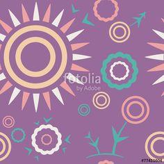 "Вектор: Pattern lilac ""Summer mood"""