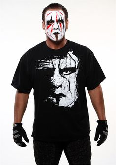 Sting-The Stinger...unique and passion-filled wrestler and person!