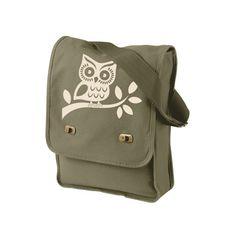 owl, mid-century modern, design trend,messenger bag