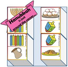 Games, worksheets, crafts and more for Hanukkah