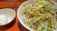 ちばから 油そば あかんなミックス 野菜 油 にんにく ねぎマシマシ ラー油 ¥860、¥30