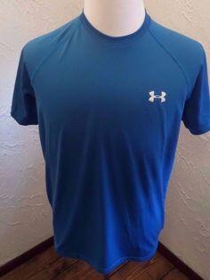 Mens Under Armour Loose Heat Gear Shirt Sz Medium  #UnderArmour #LooseHeatGearShirt