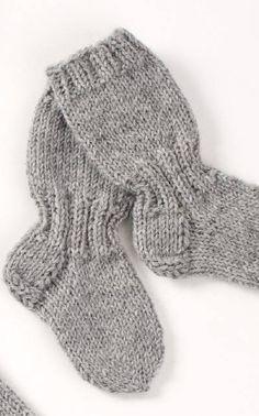 Pitkävartiset sukat novita pienin koko 22