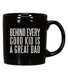 Black & White 'Great Dad' Mug