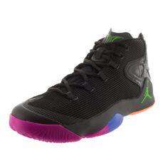 b0bc920b4f7b Nike Jordan Men s Jordan Melo M12 Black   Hmtt Pink Basketball Shoe