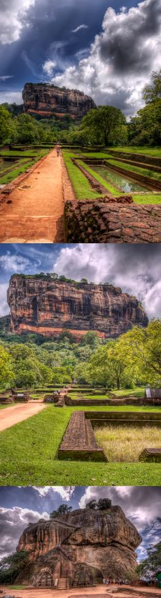 the path to the Lion's Rock, Sigiriya, Sri Lanka #SriLanka #Sigiriya #LionsRock