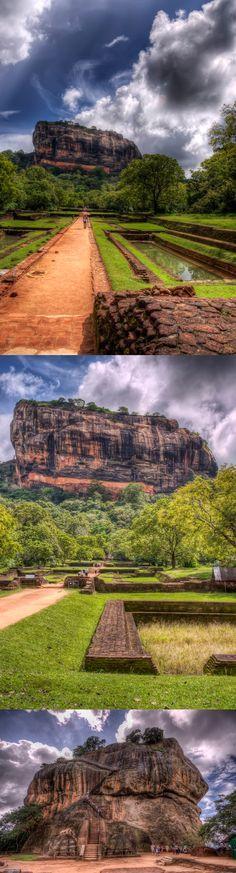 the path to the Lion's Rock, Sigiriya, Sri Lanka #SriLanka #Sigiriya #LionsRock