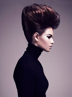 When it comes to volume we can always count on Hairstylist of the year to give you just that with such a creative edge with this collection that has won him hairstylist of the year! The Bouffant Retro hairstyles are coming back in force with more and more women inspiring themselves from the late 40's early 50's creating such elegant voluminous updos, an Allen is just one of those stylist who knows just how to do so!