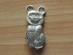Medal USSR Olympics, Olympic Bear, Moscow 11