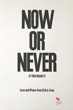 Now or Never with Erik Spiekermann