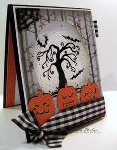 Great Impressions | Donna Phelan | G432 Spooky Tree | Halloween |
