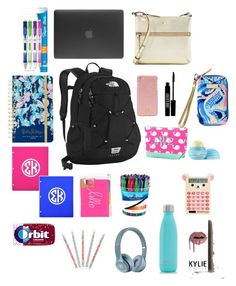 """what's in my backpack"" by mkhays on Polyvore featuring art"