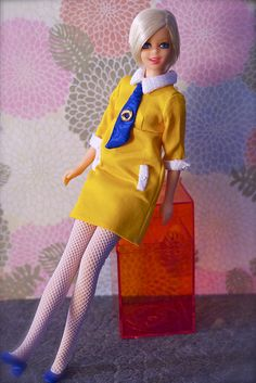 Mod Era Barbie - Twiggy Doll