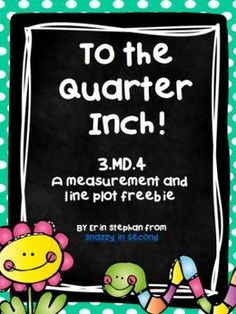 Need an activity to review or teach measuring to the nearest quarter inch and line plots? This activity requires students to measure eleven pictures…