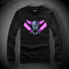 COC Clash of Clans sweatshirt PEKKA cotton fleece pullover XXL