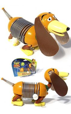 Slinky Dog Wind Up : Disney Pixar Toy Story: Famous Metal Spring Pull Toy