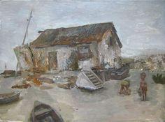 Landscape by OilOxOil on Etsy, $95.00