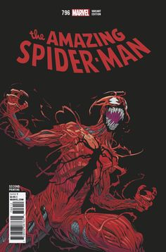 The Amazing Spider-Man #796 (2018) 2nd Printing Variant Cover by Mike Hawthorne