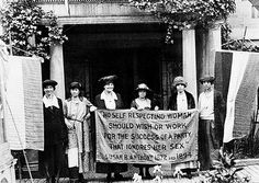 Listen to the suffragists.
