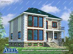 Готовые типовые индивидуальные проекты домов и коттеджей от архитекторов архитектурной фирмы АБРИСБЮРО