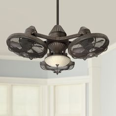 Amazing offer on 38 Esquire Industrial Ceiling Fan Light LED Remote Control Solid Bronze Frosted Glass Bowl Living Room Kitchen Bedroom Family Dining - Casa Vieja online - Toplikeclothes Ceiling Fan Chandelier, Bronze Ceiling Fan, Ceiling Lamp, Ceiling Lights, Chandeliers, Shop Ceiling Fans, Unique Ceiling Fans, Living Room Ceiling Fan, Industrial Ceiling Fan