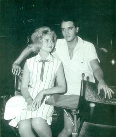Elvis Presley and Sandra Dee