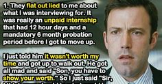 Job Applicants Explain Why They Walked Out Of An Interview Before It Was Over.