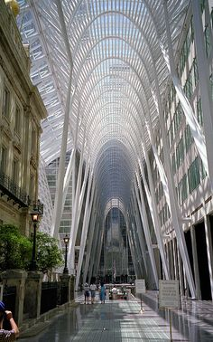Allen Lambert Galleria Brookfield Place, Toronto Commercial District by Paul Jervis. Toronto City, Toronto Travel, Ontario, Ottawa, Places Around The World, Around The Worlds, Toronto Architecture, Canada Vancouver, Montreal