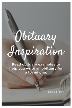 Obituary Ideas | Obituary Examples. How to write an obituary step-by-step. Find obituary examples & a writing template you can easily follow. Learn what to exclude to avoid identity theft. Obituary Examples | Identity Theft Protection | Obituary Examples for Grandmother | Obituary Examples for Grandfather | Obituary Examples for Son | Obituary Examples for Daughter | Obituary Examples for Mom | Obituary Examples for Dad | Obituary Examples for Soldiers #ObituaryExamples #ExamplesOfObituaries