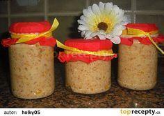 Pomazánka škvarková recept - TopRecepty.cz Sandwich Fillings, 20 Min, Recipies, Brunch, Food And Drink, Appetizers, Cooking Recipes, Cheese, Homemade