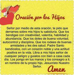 Oración por hijid