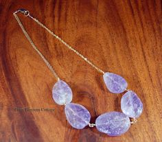 Gemstone necklace for women. Rough natural ametrine pendant with plum pink tourmaline and blue peruvian opal 14k gold-filled jewellery