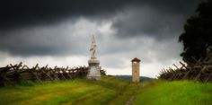 Storm over the Bloody Lane - Antietam, by Rob Shenk