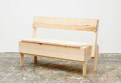 Autoprogettazione | CUCULA | Bambinooo Children's Bench | Design by Enzo Mari