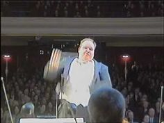 """Candide - What the orchestra sees or """"The dancing conductor"""" - YouTube"""