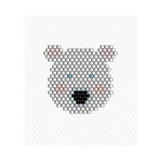 Il y a des motifs qui n'ont pas passé le casting  je leur donne une seconde chance maintenant ❤❄️ voici l'ours aux yeux bleus  #miyuki #perlesmiyuki #miyukidelica #brickstitch #diy #beads #tissage #jenfiledesperlesetjassume #jenfiledesperlesetjaimeca #polarbear #motifcharlottesouchet Charlotte Souchet © ✨