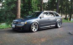 Audi B6 S4 Avant [1024 x 632] via Classy Bro