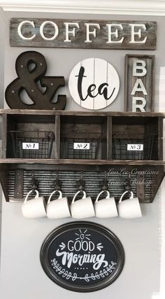 New Apartment Kitchen Bar Decor Tea Station Ideas Wine And Coffee Bar, Coffee Bar Home, Home Coffee Stations, Coffee Bars, Coffee Coffee, Coffee Maker, Coffee Shop, Coffee Bar Design, Coffee Enema