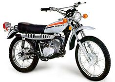 1974 Suzuki 185 My first motorcycle. It was so much fun to ride:) Moto Enduro, Enduro Motorcycle, Cafe Racer Motorcycle, Moto Bike, Motorcycle Garage, Classic Motorcycle, Scrambler, Enduro Vintage, Vintage Bikes