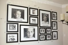 Photo Wall Gallery (picture only. no link)