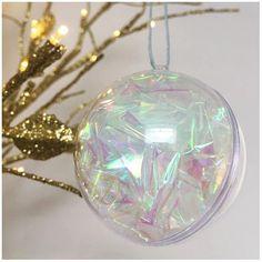 60ct clear iridescent shatterproof christmas ball ornaments 25 60mm emmas labyrinth sweet 16 pinterest ornament clear christmas ornaments and