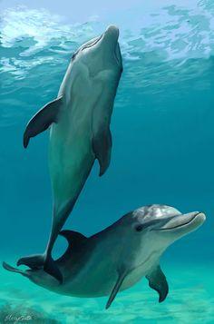 I love Dolphins Vaquera Sexy, Fauna Marina, Bottlenose Dolphin, Underwater Life, Ocean Creatures, Nature Animals, Ocean Life, Marine Life, My Animal